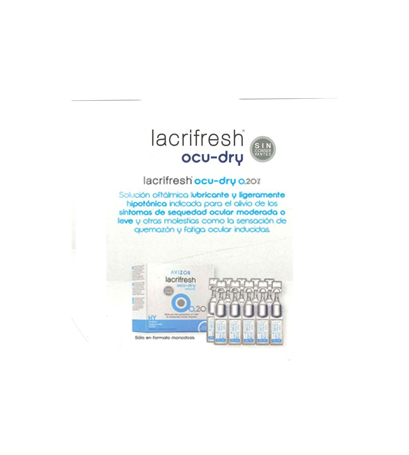Lacrifresh OCU DRY 0,2% 20 x 0,4 ml