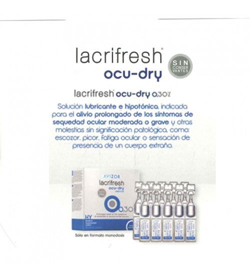 Lacrifresh OCU DRY 0,3% 20 x 0,4 ml